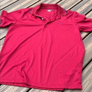 Greg Norman men's large red polo